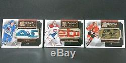 13-14 scripted sticks x 34 Wayne Gretzky Sidney Crosby Patrick Kane lot/set auto