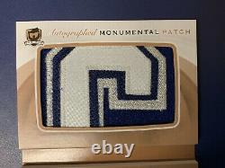 14-15 The Cup Mats Sundin Autographed Monumental Patch 3/3 C 1/1 AMP-MS