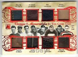 15-16 ITG Used VINTAGE 8 KING CLANCY PADDY MORAN ACE BAILEY +++++ LEATHER #1/2