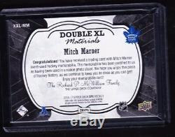 16-17 2016-17 Spx Mitch Marner Double XL Materials Patch /15 Xl-mm Maple Leafs