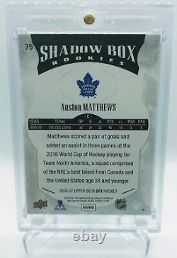 16-17 Auston Matthews, Marner, & Nylander Rookie SPX /249 Shadow Box Set
