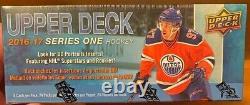 16-17 UD Series 1 NHL Hockey Retail Box 24 Packs MATTHEWS AHO NYLANDER ROOKIES