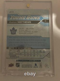 16-17 Upper Deck Hockey Auston Matthews, Mitch Manner Young Guns Lot