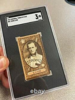 1912 C46 Imperial Tobacco #33 John Lush Toronto Maple Leafs SGA-3 Very Good