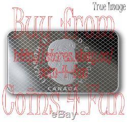1917-2017 100th Anniversary Toronto Maple Leafs $25 Pure Silver Rectangular Coin