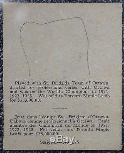 1936 KING CLANCY-Toronto Maple Leafs-OPC O-Pee-Chee Series D No. 125-RARE