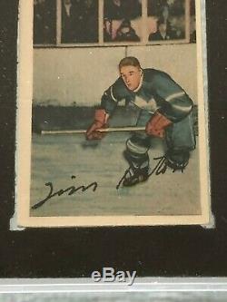 1952-53 Parkhurst # 58 Tim Horton Rc Ksa 6