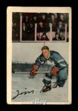 1952 Parkhurst #58 Tim Horton RC VGEX X1701892