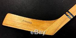 1960's Johnny Bower Souvenir Mini Hockey Stick Toronto Maple Leafs Gardens Mint