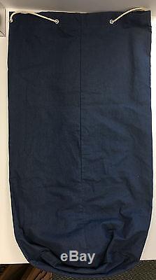 1960's Toronto Maple Leafs Canvas Equipment BAG Team Logo Old Vtg Hockey NOS NHL