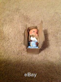 1960s Toronto Maple Leafs Mini Bobblehead Nodder, 4 3/4 Inches, NOS with Box