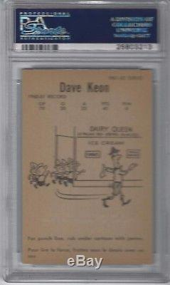 1961 Parkhurst Dave Keon Parkhurst Rc #5 Psa 7 Nm Toronto Maple Leafs