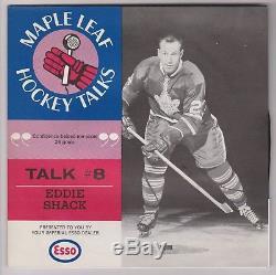 1966-67 Esso Toronto Maple Leafs Hockey Talks Complete Set of 10