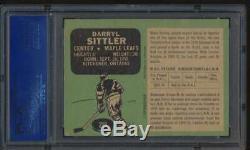 1970 O-Pee-Chee #218 Darryl Sittler HOF RC PSA 5 EX 53349