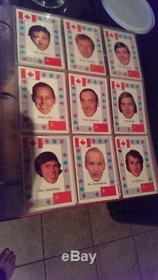 1972 1973 OPC TEAM CANADA COMPLETE SET (28PC) Henderson, Esposito, Dryden, Clark