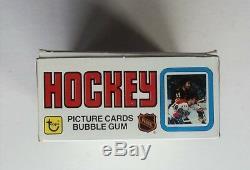 1979-80 NHL Topps Hockey Wax Pack DISPLAY BOX