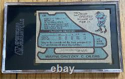 1979-80 Topps #18 Wayne Gretzky SGC 6 EX NM RC Rookie