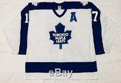 1988-89 Wendel Clark Toronto Maple Leafs Authentic CCM Hockey Jersey Size 52