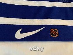 1990s Mats Sundin Toronto Maple Leafs Nike Authentic Hockey Jersey 56 XL
