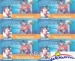 (20) 2016/17 Upper Deck Series 1 Hockey SPECIAL Sealed Box-20 JUMBO YOUNG GUN