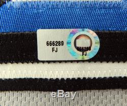 2011 Toronto Blue Jays Jose Molina #8 Game Used Grey Jersey Maple Leaf Patch