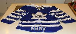 2014 Winter Classic Toronto Maple Leafs NHL Hockey Jersey Pro Authentic Size 56