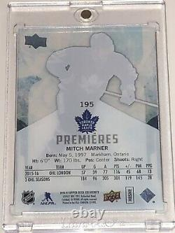 2016-17 Mitch Marner Upper Deck Ice Premieres Rookie Rc /99! Beauty