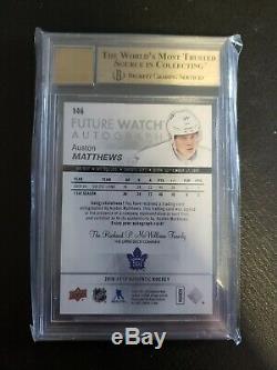2016-17 SP Authentic Auston Matthews Future Watch Auto Toronto Maple Leafs RC