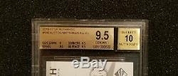 2016-17 SP Authentic Future Watch Auston Matthews Auto BGS 9.5 Gem Mint