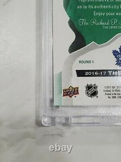 2016-17 The Cup Hockey AUSTON MATTHEWS RC Rookie Auto Top 10 Picks 1/1