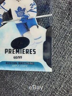 2016-17 UD ICE Rookie Premieres Auston Matthews RC Very RARE