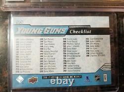 2016-17 UPPER DECK Young Guns Checklist Matthews/Nylander High Gloss lot