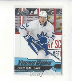 2016-17 Upper Deck #201 Auston Matthews YG RC Rookie Maple Leafs