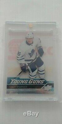 2016/17 Upper Deck Series 2 Mitch Marner Acetate Young Gun #468 Toronto Maple