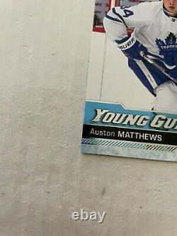 2016-17 Upper Deck Young Guns AUSTON MATTHEWS YG #201 Rookie RC MAPLE LEAFS HOT