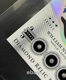 2016-17 Upperdeck Black Diamond Relic Rookie William Nylander /99 Rare Read