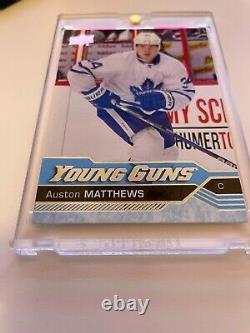 2016 Young Guns Auston Matthews Toronto Maple Leafs #201 Excellent condition