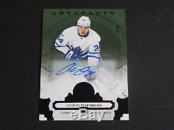 2017-18 17/18 Artifacts BLACK AUTO #110 Auston Matthews Toronto Maple Leafs / 5