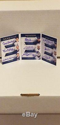 2017-18 The Cup Toronto Maple Leafs 9 Autos! Clark Gilmour Potvin Bower Lander