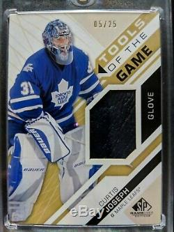 2018-19 SP Game Used Tools Of The Game Curtis Joseph #/25 CUJO! Rare