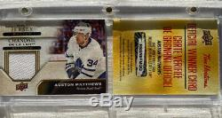 2019-20 Auston Matthews Tim Hortons Redemption Jersey Relics Toronto Maple Leafs