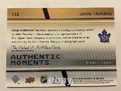 2019-20 SP Authentic JOHN TAVARES GOLD INK AUTO Group A 15,665 SSP Toronto