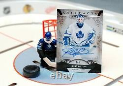 2020-21 Upper Deck NHL Artifacts Felix Potvin Autographed Black Foil 1/5