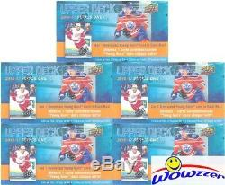 (5) 2016/17 Upper Deck Series 1 Hockey SPECIAL Sealed Box-5 JUMBO YOUNG GUN