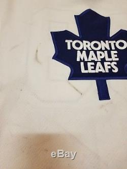 ALEXANDER MOGILNY 02'03 Toronto Maple Leafs PHOTOMATCHED Game Worn Used Jersey