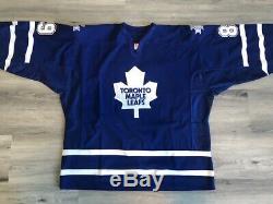 ALEXANDER MOGILNY Toronto Maple Leafs Vintage Reebok MiC Hockey Jersey Size 58