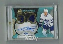 AUSTON MATTHEWS 2016-17 The Cup Honorable Numbers Rookie RC Patch Auto #01/34