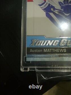 AUSTON MATTHEWS 2016-17 Upper Deck Young Guns YG SP RC ROOKIE 201 GEM MINT LEAFS