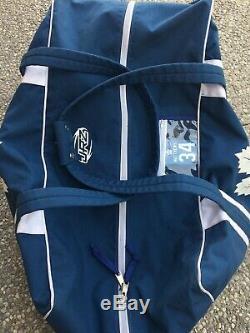 AUSTON MATTHEWS PRO STOCK Toronto Maple Leafs JRZ Hockey Bag