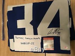 AUSTON MATTHEWS SIGNED TORONTO MAPLE LEAFS Hockey Jersey (COA) Home Jersey